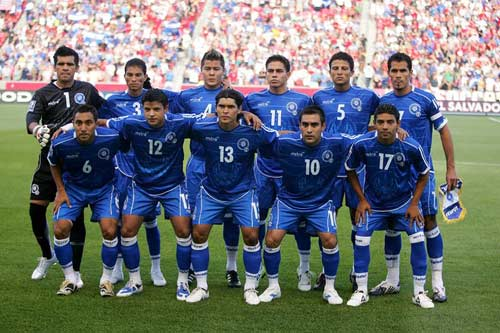 El Salvador Squad for 2013 CONCACAF Gold Cup