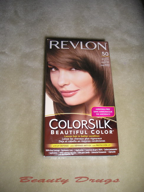 Beauty Drugs Revlon Colorsilk Light Ash Brown 50