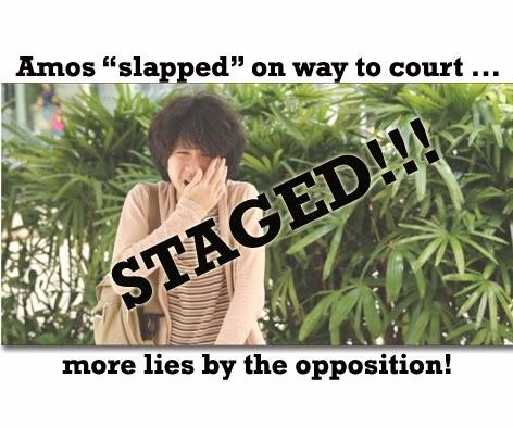Amos Yee slapped SDP trick