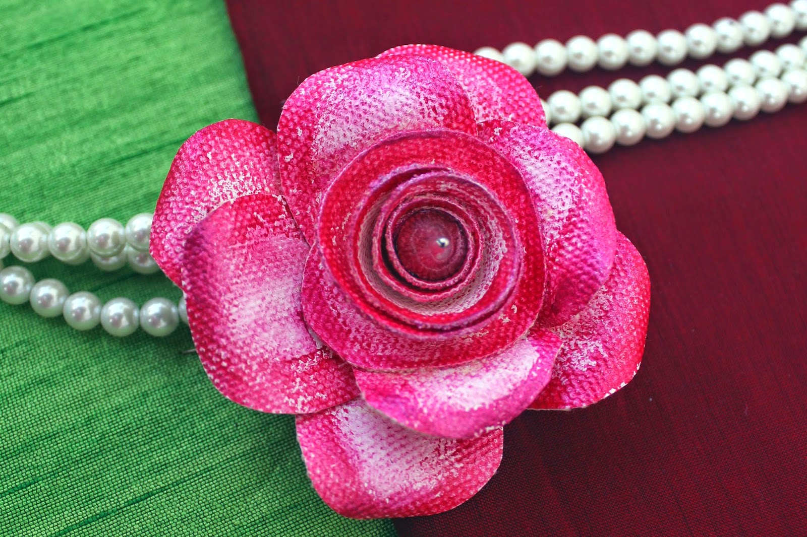 How to Make a Rose Brooch