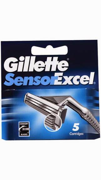 Buy Gillette Sensor Excel Pack Of 5 Cartridges for Rs.314 at Paytm: Buytoearn