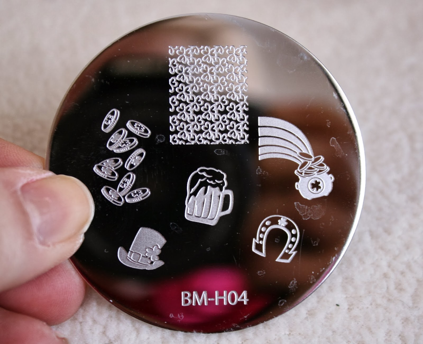 bundle monster nail stamping plates set collection holiday 2013 nails art stamp konad bm-h04