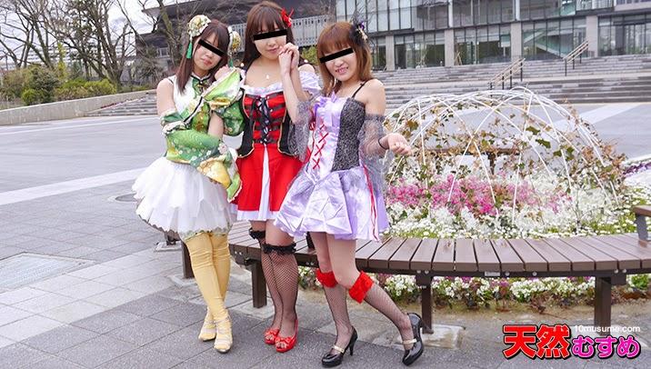 JAV Uncensored 10m 050615_01 : Spring Festival – Cosplay Gangbang