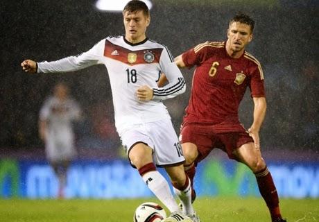 Laga Ujicoba : Jerman vs Spanyol 1-0