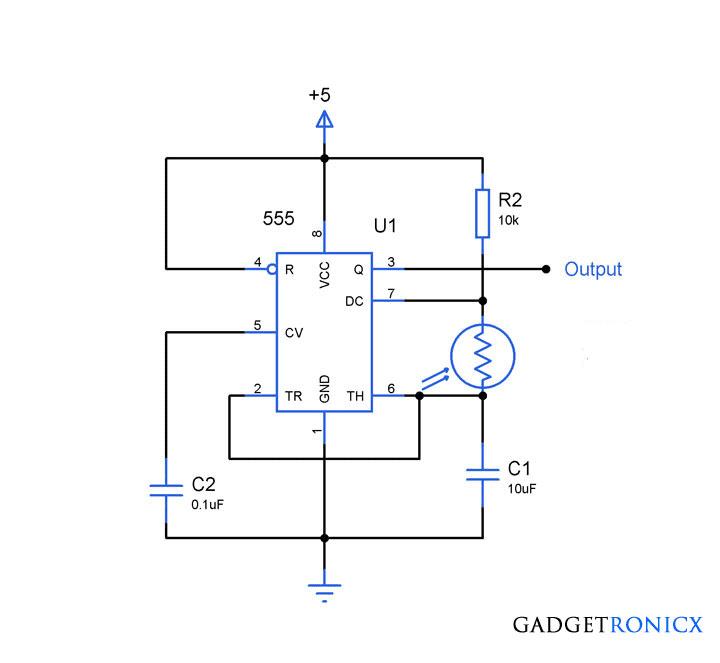 Light-frequency-converter-circuit-555-LDR