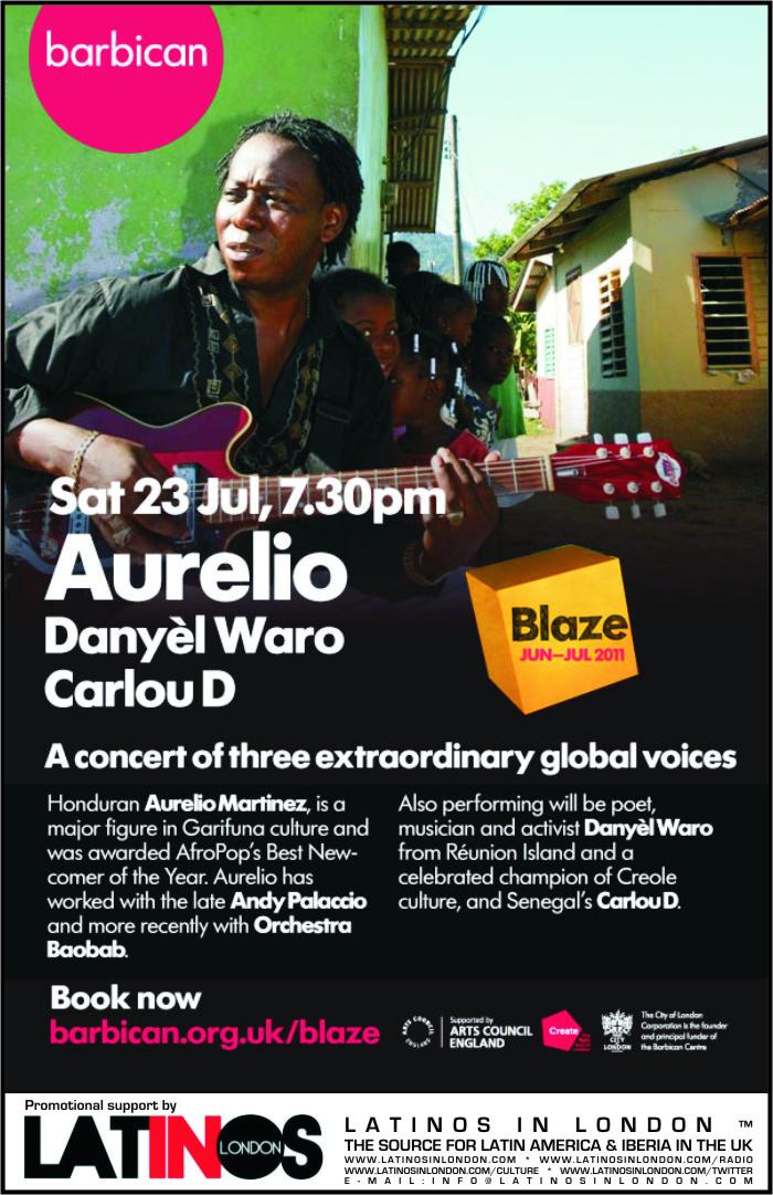 AURELIO MARTINEZ :23rd July, London