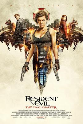 Resident Evil: The Final Chapter 2017 DVD Custom NTSC Sub TC V2