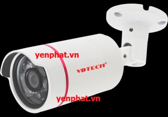 Lắp đặt Camera Vdtech VDT-207AHDL 1.0