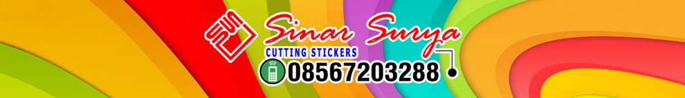 STICKER  CUTTING SURABAYA