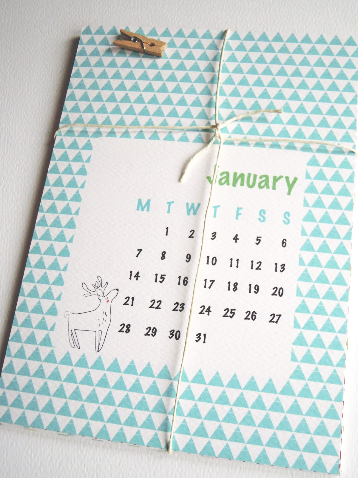 Handmade Calendar Design : Mi ed design handmade illustrated calendar now on sale