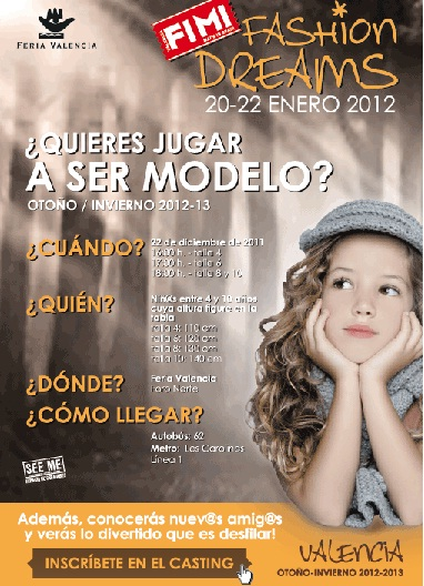 FIMI CASTING MODELO INFANTIL 2012 2013
