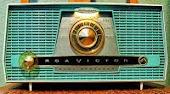 En radio