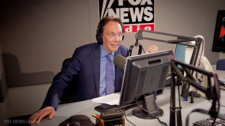 Alan Colmes is a leftist radio host