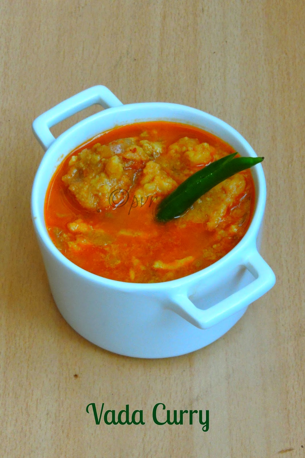 Vada curry, Saidapettai vada curry