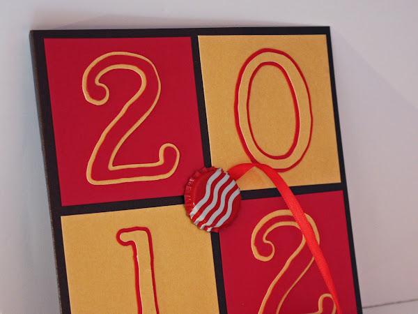 Shimmery Graduation Card