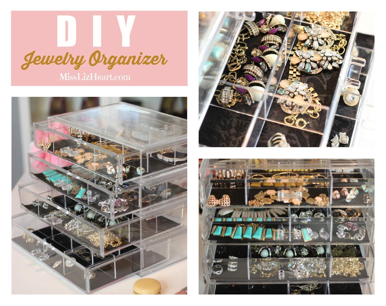 Miss Liz Heart My Jewelry Organization Plus Video
