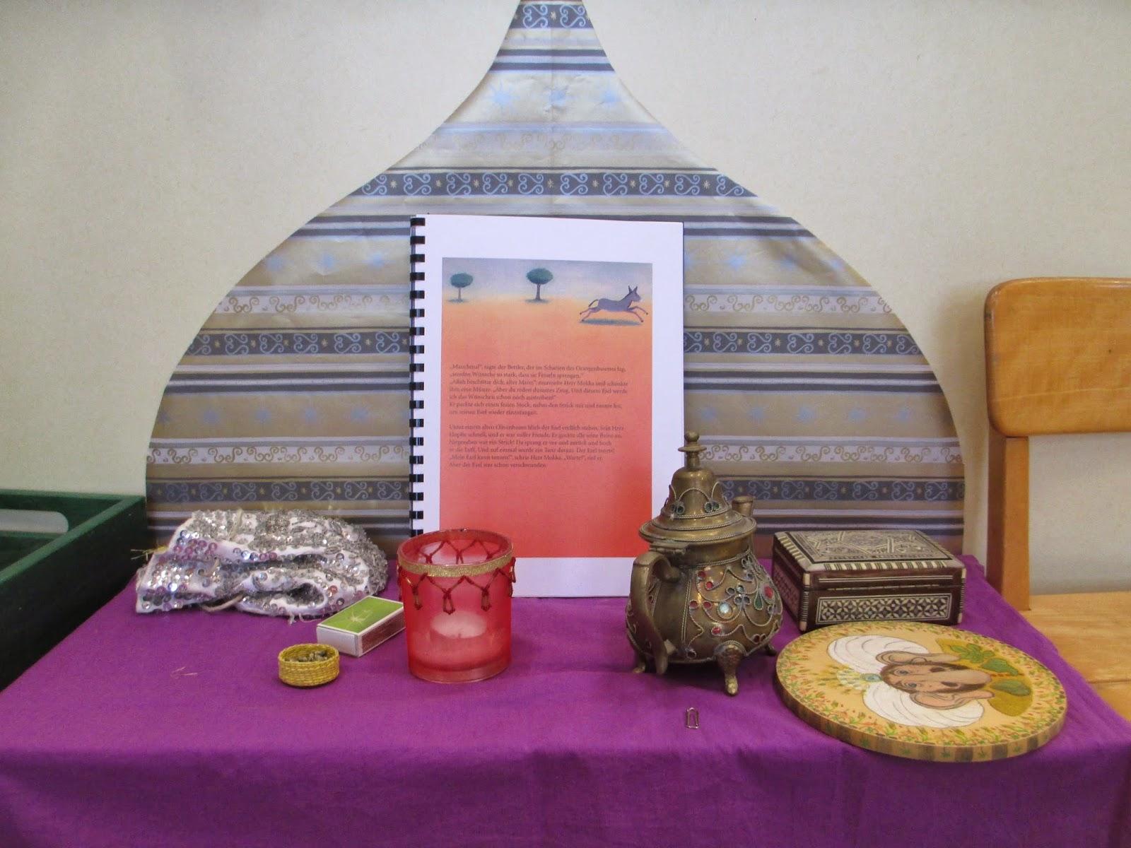 einfache orientalische Dekoration