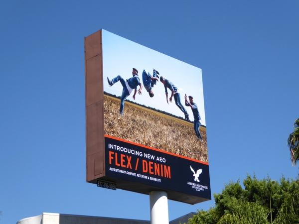 AEO Flex Denim billboard