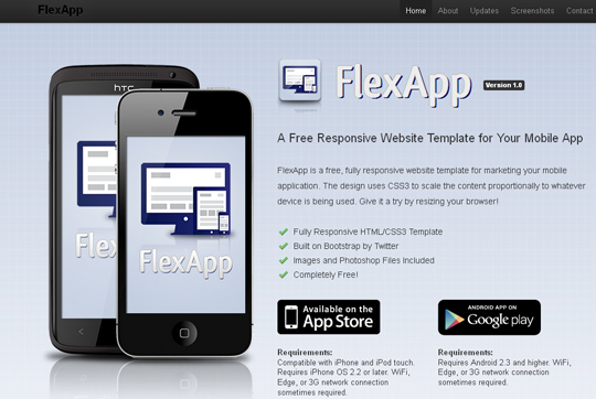 Collection Of Free Responsive HTML & CSS Website Templates