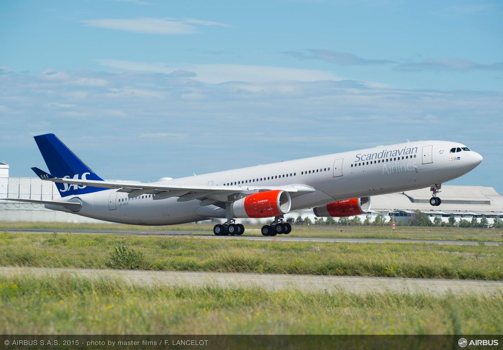 É MAIS QUE VOAR | SAS recebe nova versão do A330-300 com maior alcance