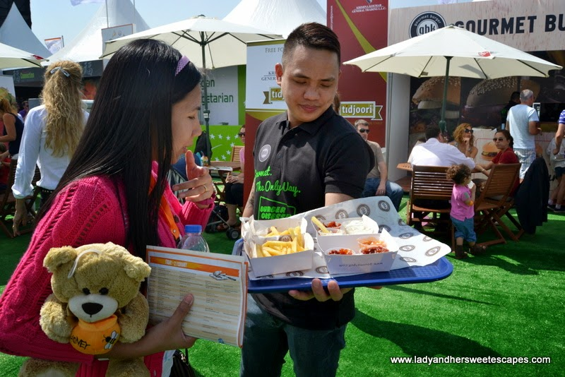Gourmet Burger Kitchen at the Dubai Food Carnival