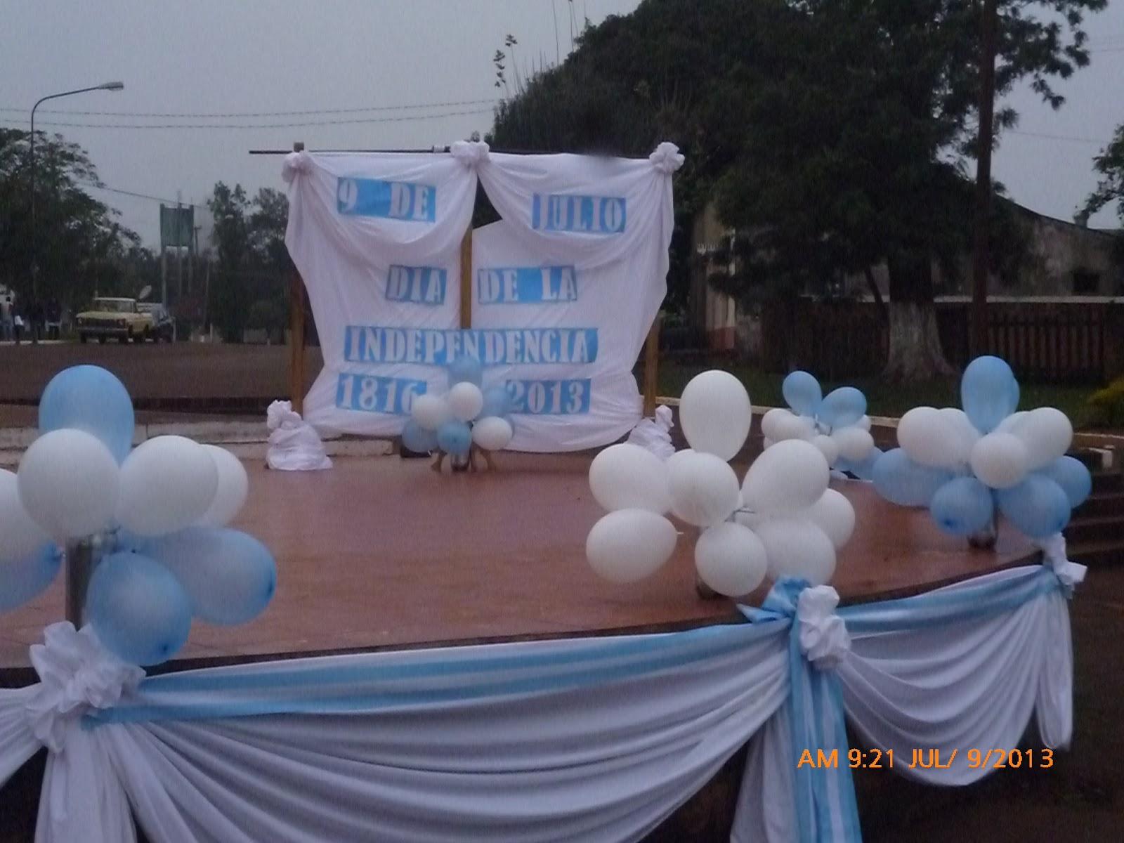 Escuela de comercio n 10 santa ana misiones argentina for Decoracion 9 de julio pinterest