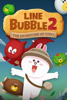 Screenshots of the Line bubble 2 The adventure of Cony for Android tablet, phone.