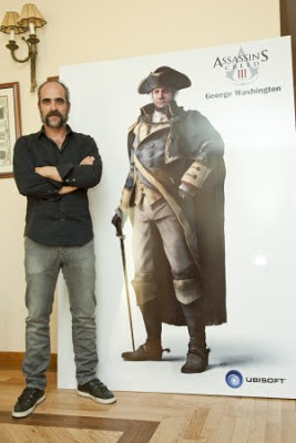 Luis Tosar en Assassins Creed 3 - videojuegos.jpg