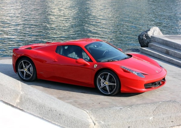 Ferrari 458 Spider photos