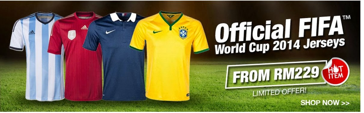 World Cup Jersey 2014 At Lazada