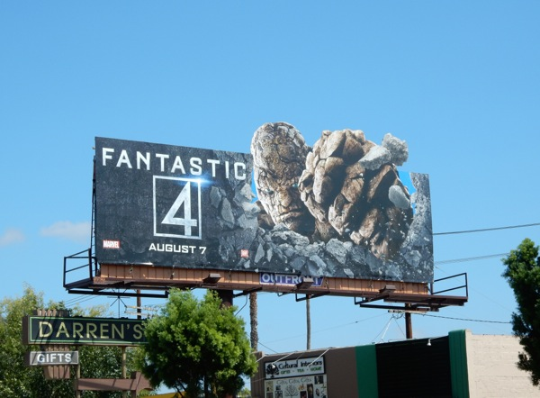 Fantastic 4 Thing billboard