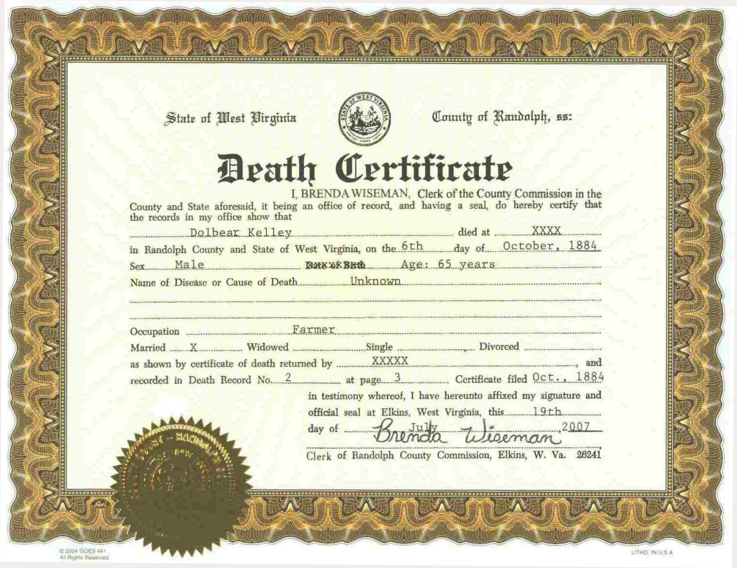 Rodney Sparks Death Certificate Procedure Offender Search Ri Cell