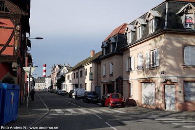 Frankrike, France, hus, house, houses, street, gata, fransk, bakgata, småstad