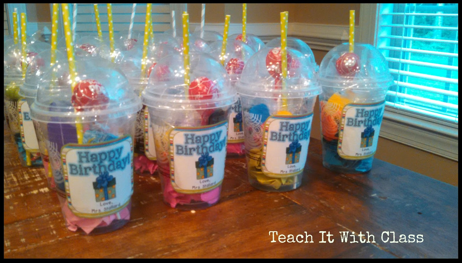 I Went To Starbucks And Asked For 24 Cups A Class Project Since Im Teacher They Were Generous Grateful Handed Them Over