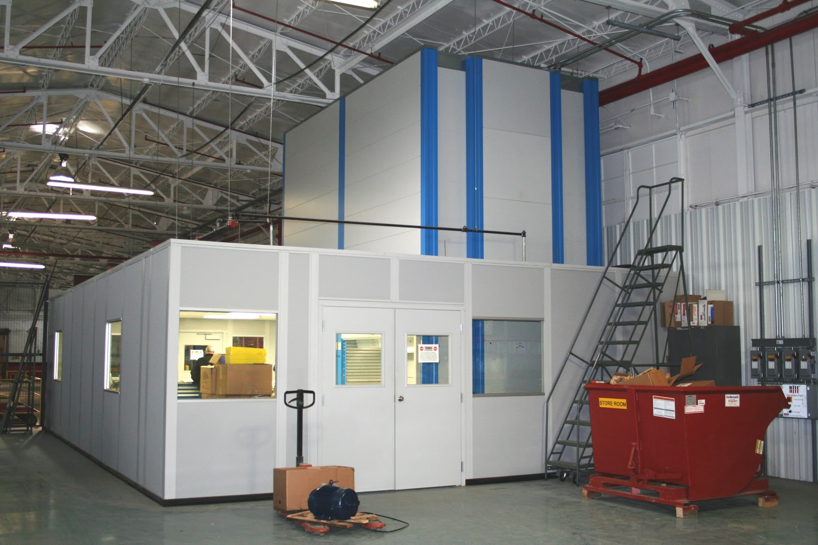 fairfield nj 07004 prefabricated modular inplant offices and guard