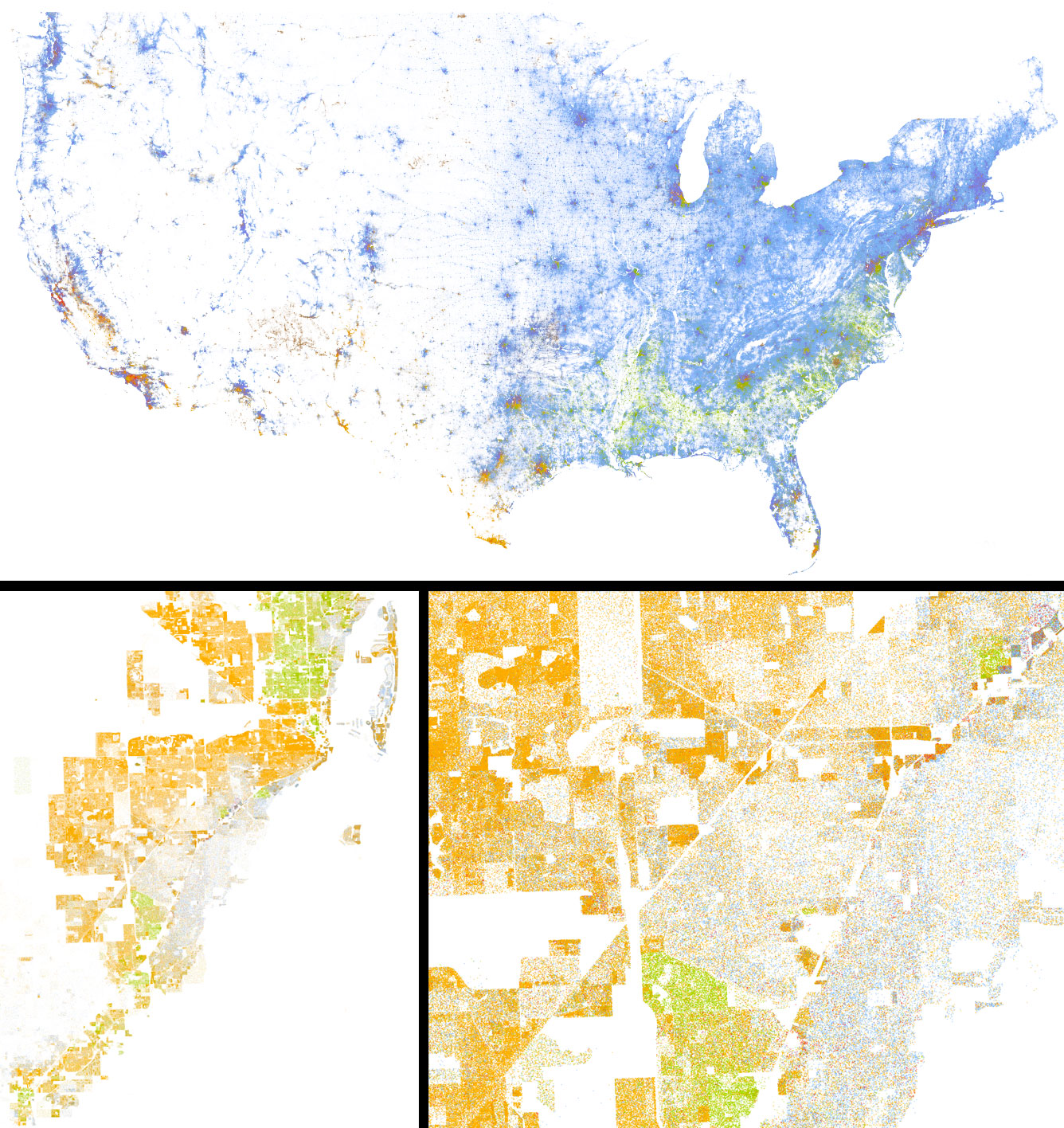 the map on the left has been making the rounds in social media in the blogosphere and even in mainstream publications recently so i may be a bit late to