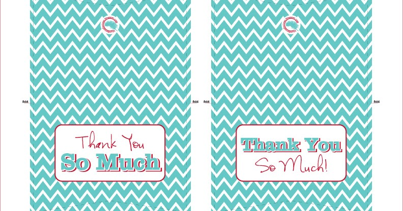 Thank You Cards & Envelope Template | Blue Sky Confections