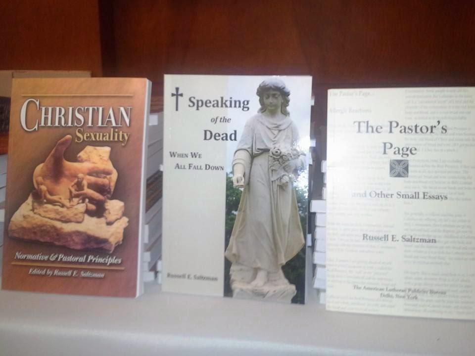 Pastor Russ Saltzman's books
