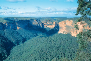New South Wales The Blue Mountains Australia