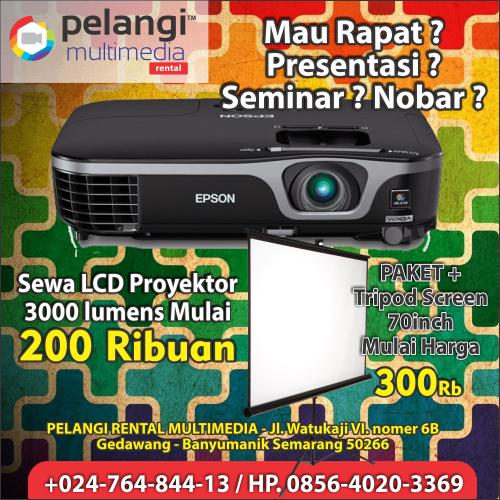 sewa lcd proyektor / +0856-4020-3369