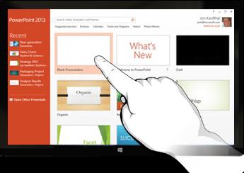 Những điểm nổi bật trong Powerpoint 2013