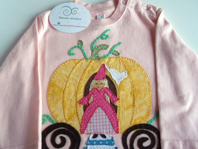 Camiseta Calabaza y Princesa