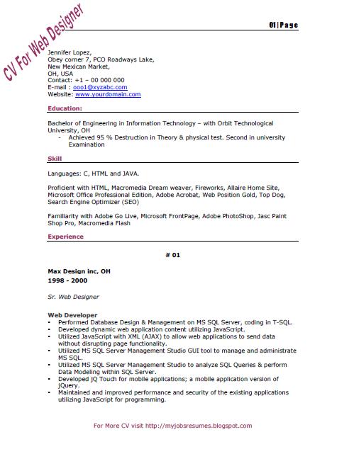 j ee java resume resume format download pdf slideshare sql server bi developer resume profile fl
