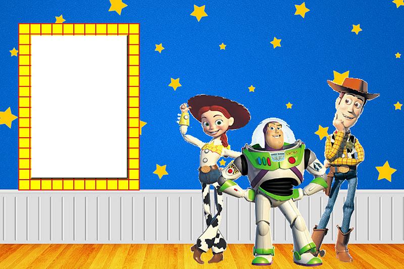 Toy Story     Kit Completo   Molduras Para Convites  R  Tulos Para
