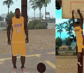 Los Angeles Lakers Skin GTA