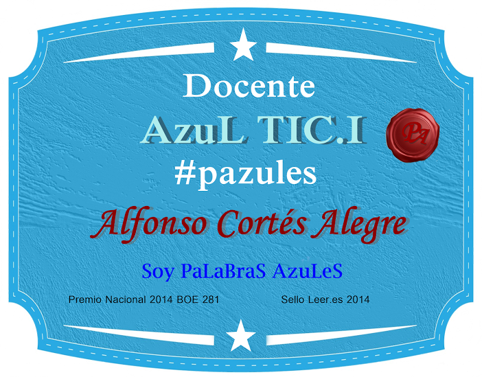 Proyecto Palabras Azules