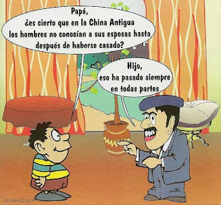 Papá, ¿es cierto que en China Antigua