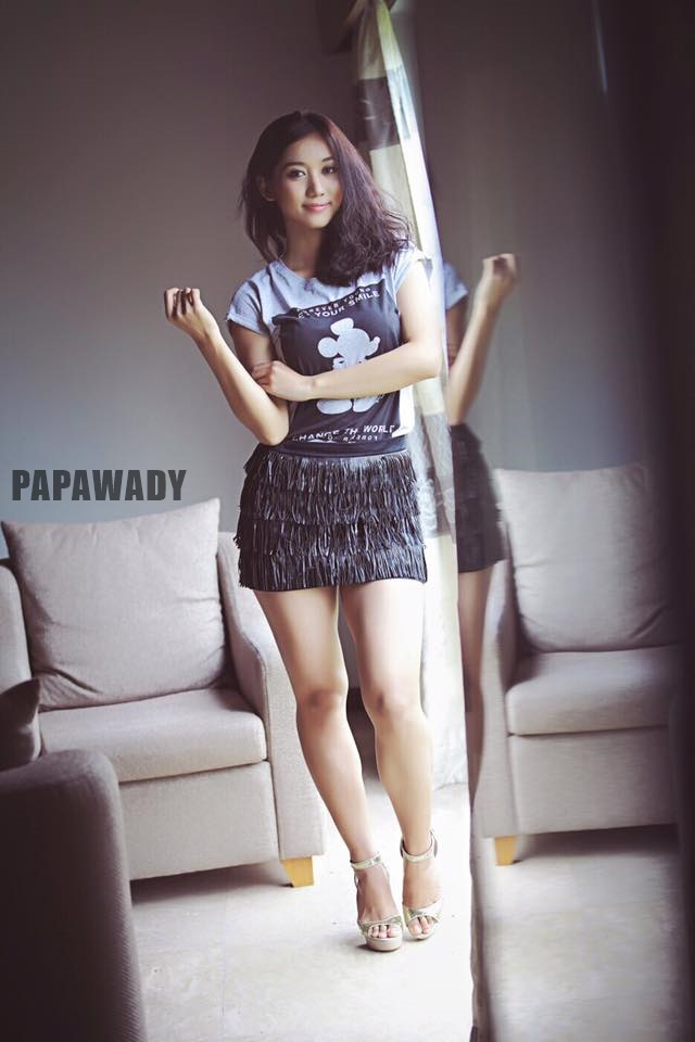 Myanmar Model Lu Lu Aung New Photos - Forever Young Let Your Smile