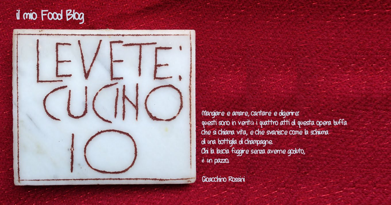 LEVETE: CUCINO IO