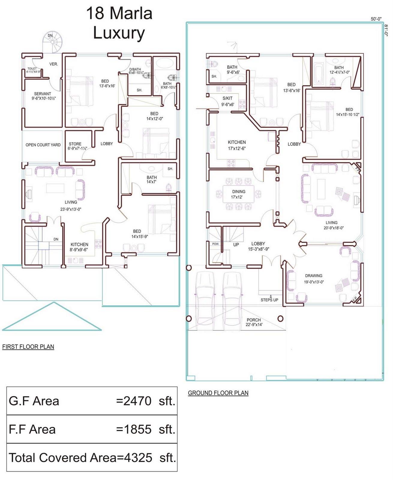 9 Marla House Floor Plan Joy Studio Design Gallery